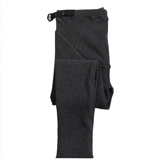 Gagacity Premama Leggings Invierno Pantalones Premama Legging Banda par/á Barriga Leggins Embarazada Termicos Pantalones Maternidad