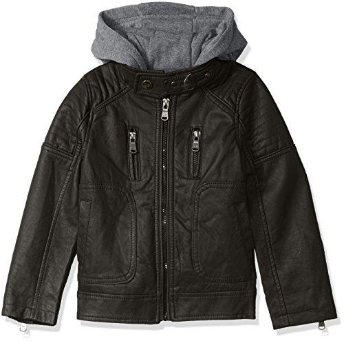Urban Republic Leather Jacket Fleece
