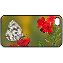 Personalized Protective Hardshell Back Hardcover For iPhone 4/4S, Elusive Design In Black Case Color