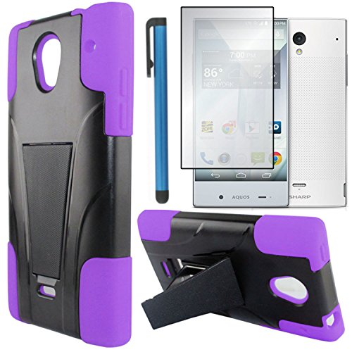 sharp aquos crystal purple case - 7