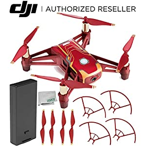 Ryze Tech Tello Quadcopter Iron Man Edition Starter Kit 51WxI4BIu 2BL