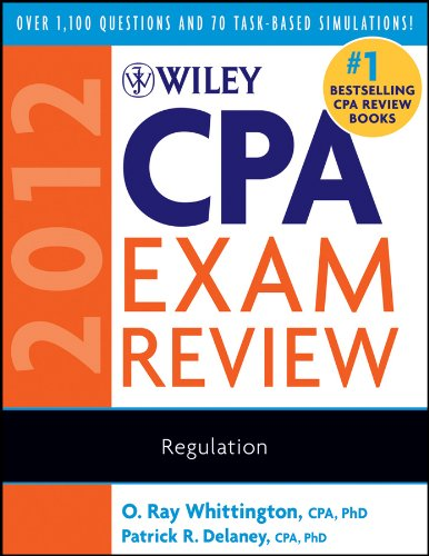 Download Wiley CPA Exam Review 2012, Regulation (Wiley CPA Examination Review: Regulation) Pdf