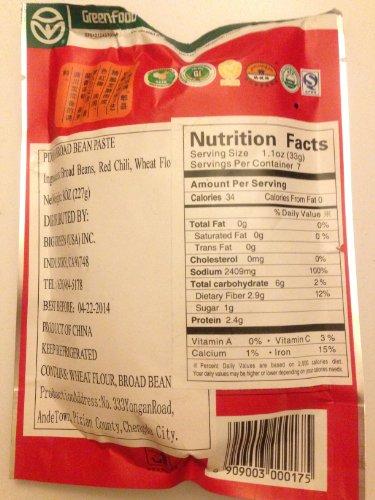 Sichuan / Pixian / Pi Xian Broad Bean Paste 8OZ / (10 packs, 227 g / pack)
