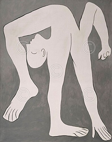 (L'acrobate The Acrobat by Pablo Picasso Abstract Figurative Arms Legs Poster (Choose Size of Print))