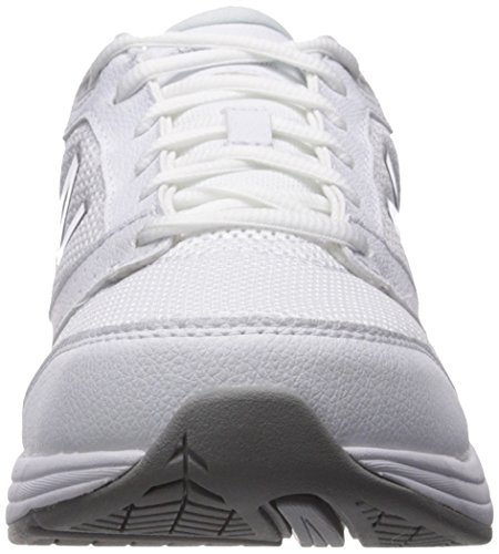 New Balance Women's 928v3 Walking Shoe, White/White, 10 B US