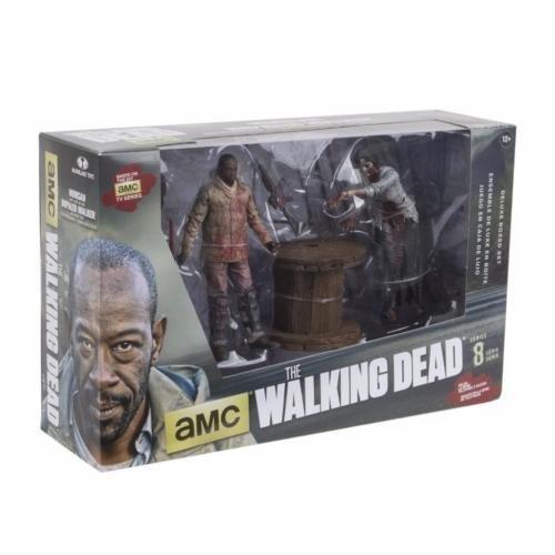 McFarlane Toys The Walking Dead Morgan Jones Impaled Walker & Spike Trap Box Set
