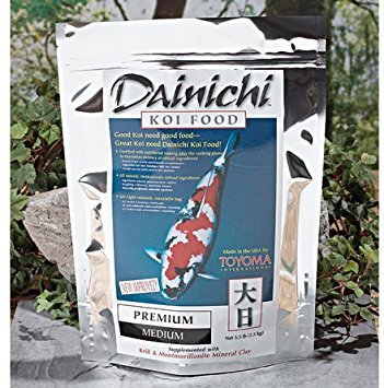 Dainichi KOI - PREMIUM (5.5 lb) Bag - Medium Pellet by Dainichi