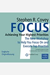 Focus: Achieving Your Highest Priorities Audible Audiobook