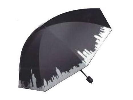 Paraguas Juvenil Anti Viento 23,5cm Ciudades 8 Varillas Surtido A Elegir 1