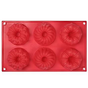 Casa Bonita molde de silicona molde para tartas moldes magdalenas de jabón Moldes Cubito de hielo