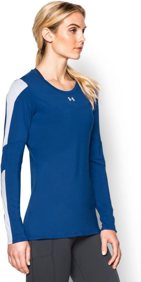 Under Armour Womens Volleyball Fitted Pullover Top