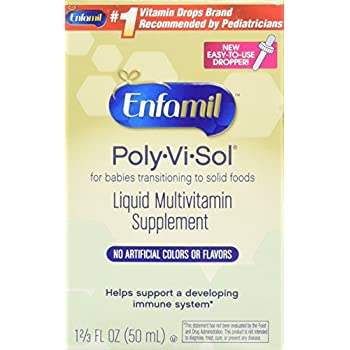 Amazon Com Enfamil Poly Vi Sol Multivitamin Supplement