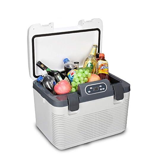 L.L.QYL Mini Nevera Refrigerador silencioso portátil de 19L, Mini ...