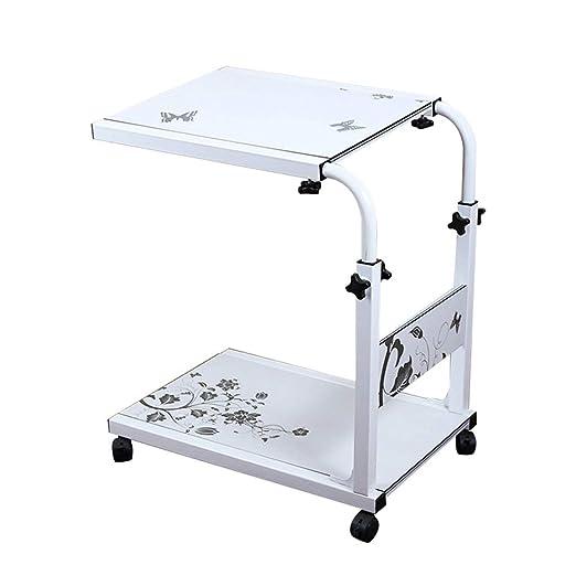 Tipo blanco C Mesa de cuidados Altura ajustable Bandeja para ...