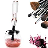 Stay Fresh Best Makeup Brush Cleaner – Professional Electric Spinner Tool Kit – Fully Clean & Dry Make up Brushes Washing and Drying Your Brushes Made Quick & Easy with This Pro Spinning Machine