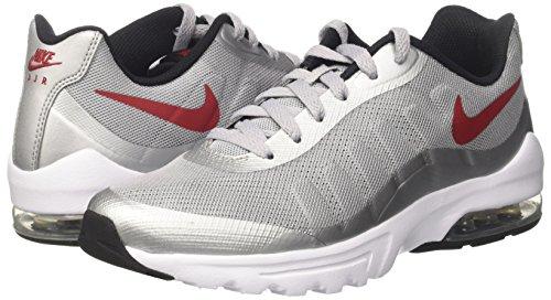 gris blanc noir Nike Air Loup Rouge Gris Hommes Pour De Varsity Max Invigor xZSqgwZ06