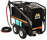 Mi-T-M HSE-3504-0M30 HSE Series Hot Water Pressure Washer, Belt Drive, 3500 psi, 3.3 GPM