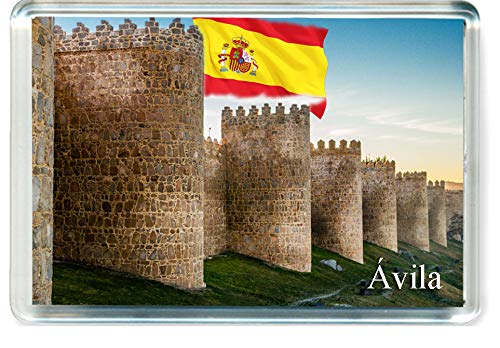 GIFTSTICY H332 /Ávila Im/án para Nevera Spain Travel Fridge Magnet