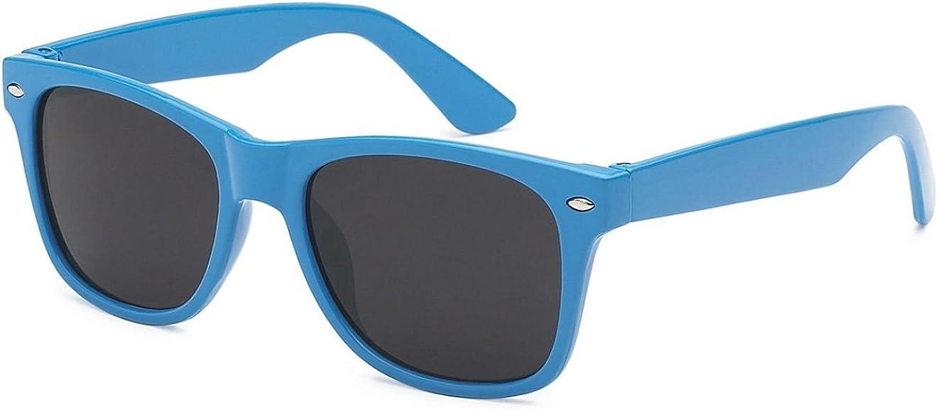 Amazon.com: Kids Childrens 80's Classic Retro Wayfarer Sunglasses (Blue):  Clothing