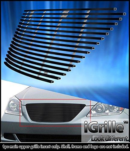 [Fits 05-07 Honda Odyssey Black Stainless Steel Billet Grille Insert #H87119J] (Odyssey Billet)