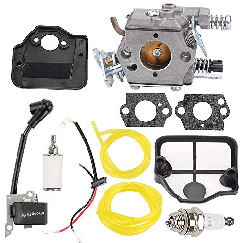 - Hayskill Carburetor w Air Filter Repower Kit for Husqvarna 36 41 136 137 141 142 Chainsaw Parts Walbro WT-834 WT-657 WT-529 WT-289 WT-285 WT-239 WT-202 Carb 530071345 530071987