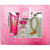 Baby Phat DARE ME Eau de Toilette Spray, Body Cream, and Charm Bracelet Gift Set