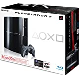 Sony Playstation 3 Console 80GB - Black