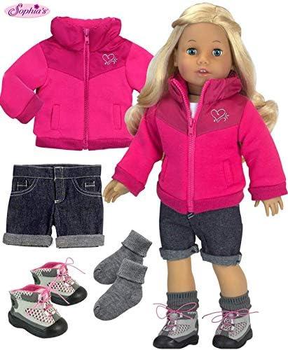 "For 18/"" American Girl Detailed Dark Denim Cuffed Shorts Doll Clothes QUALITY"