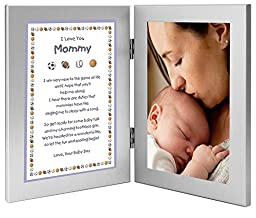 Gift for New Mom from Son - Mommy Gift From Baby Boy - Add Photo