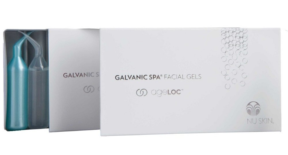 Facial gels with ageloc