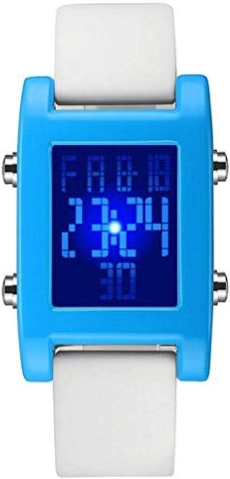 A literary youth Relojes Hombre Elegantes,un Reloj Juvenil literario para Estudiantes El Reloj Luminoso de gelatina de Color Caramelo Reloj Deportivo para Hombres y niñas @ 11
