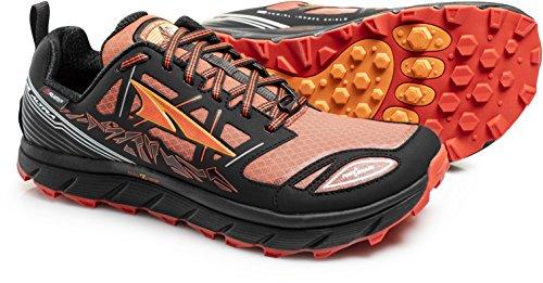 - Altra Lone Peak 3.0 Neoshell Trail Running Shoe - Men's Black/Orange, 11.0
