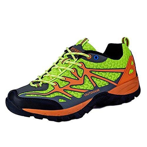 Chaussures Course Respirantes Outdoor Légères Antidérapantes Randonnée Légère Trail Lace Mesdames De 42 Chaussures Green Up De De Sneakers U6qrn5w1U