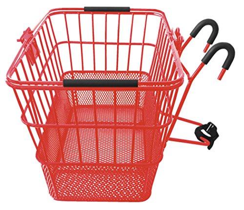 Mesh Bottom Lift-Off Basket w/ Bracket, Red