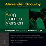 KJV Scourby Complete Bible Audio MP3 CDS: KJV Audio Bible