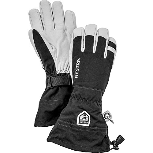 Hestra Gloves 30570 Army Leather Heli Ski, Black - 13 by Hestra