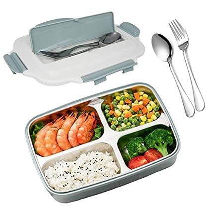 Sp/ülmaschinengeeignet HEV/ÜY Lunchbox mit Unterteilungen Brotdose Kinder Bento Box auslaufsicher f/ür Schule Arbeit Picknick Reisen Untrwegs Mikrowelle