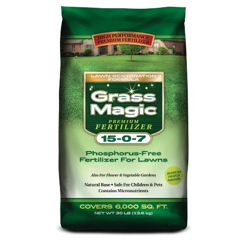 Prestige M150730 15-0-7 Grass Magic, 30-Pound