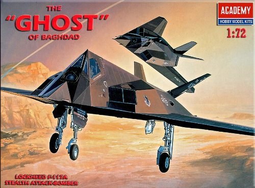 Academy F-117A STEALTH ATTACK BOMBES