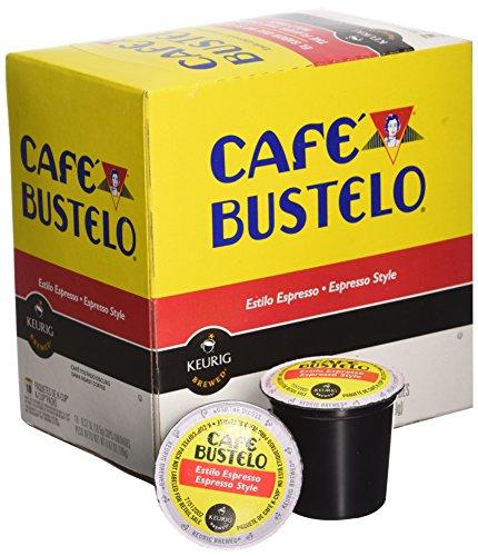 Keurig Cafe Bustelo Coffee Espresso K Cups Cuban 36 Count