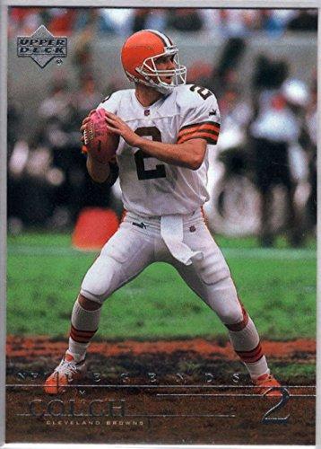 Football NFL 2001 Upper Deck Legends #16 Tim Couch (Tim Brown Nfl)