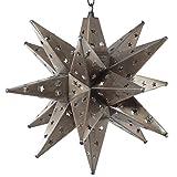 Moravian Star Light, Star Pierced Tin, Bronze , 20''
