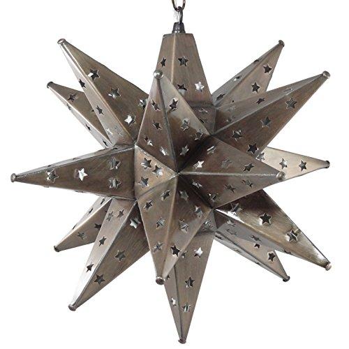 Tin Star Pendant Light in Florida - 7
