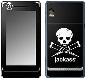 MusicSkins, MS-JKAS50207, Jackass - Logo, Motorola Droid 2, Skin