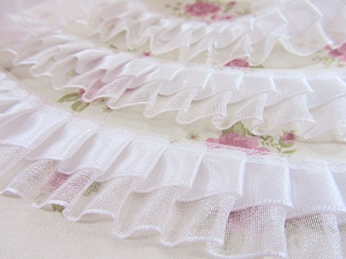 5 yards Satin/Organza Double Layer 1