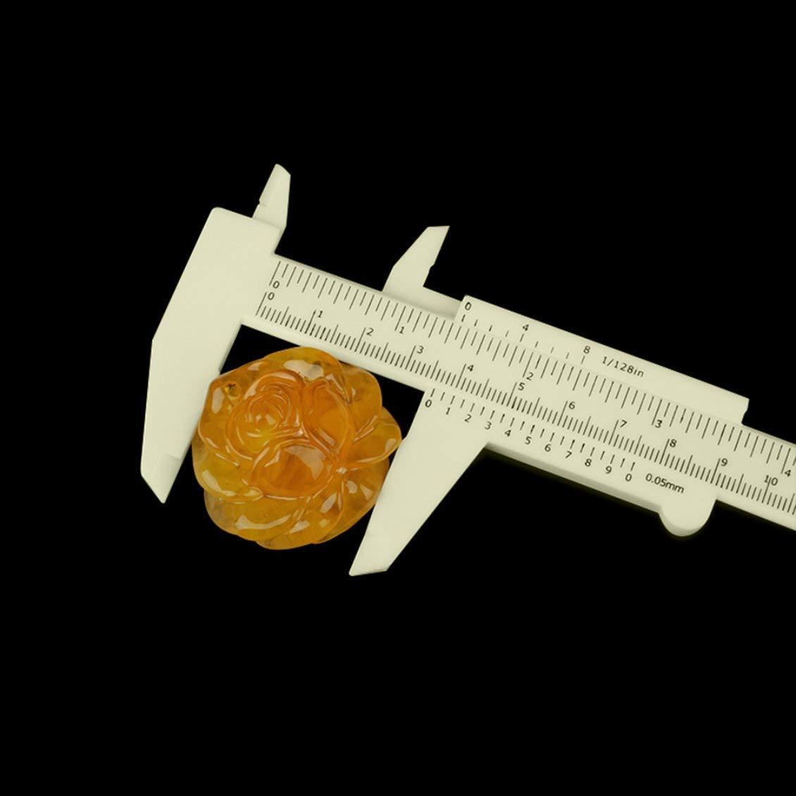 0 a 150 mm 6 pulgadas mini pl/ástico deslizante Vernier calibrador calibrador herramienta de medici/ón hogar al aire libre usado mini regla port/átil