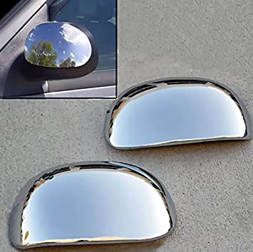F150 1997-2003 Chrome Covers Mirrors+4 Doors w+Gas For FORD Expedition 97-2002
