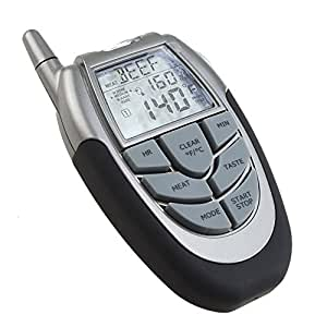Tester - TOOGOO(R) Wireless Digital BBQ Thermometer Tester with Probe Thermometer and Remote