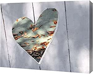 """PrintArt GW-POD-34-9000D-16x12 """"Heart Full of Love"""" by Gail Peck Gallery Wrapped Giclee Canvas Art Print, 16"""" x 12"""""""