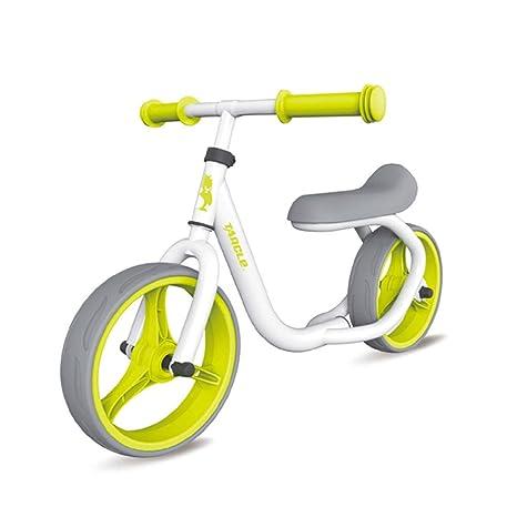 YUSDP Bicicleta de Equilibrio de 12 Pulgadas sin Pedal ...